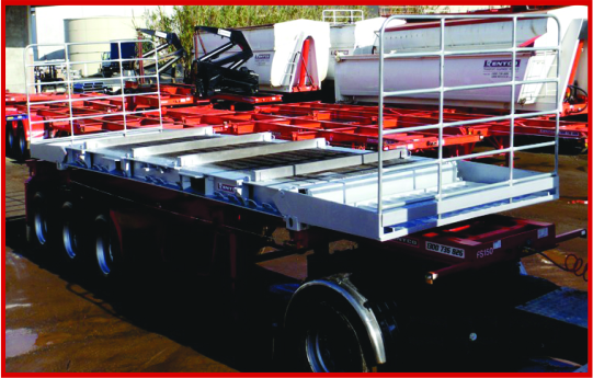 40ft Flat Rack Container Hire
